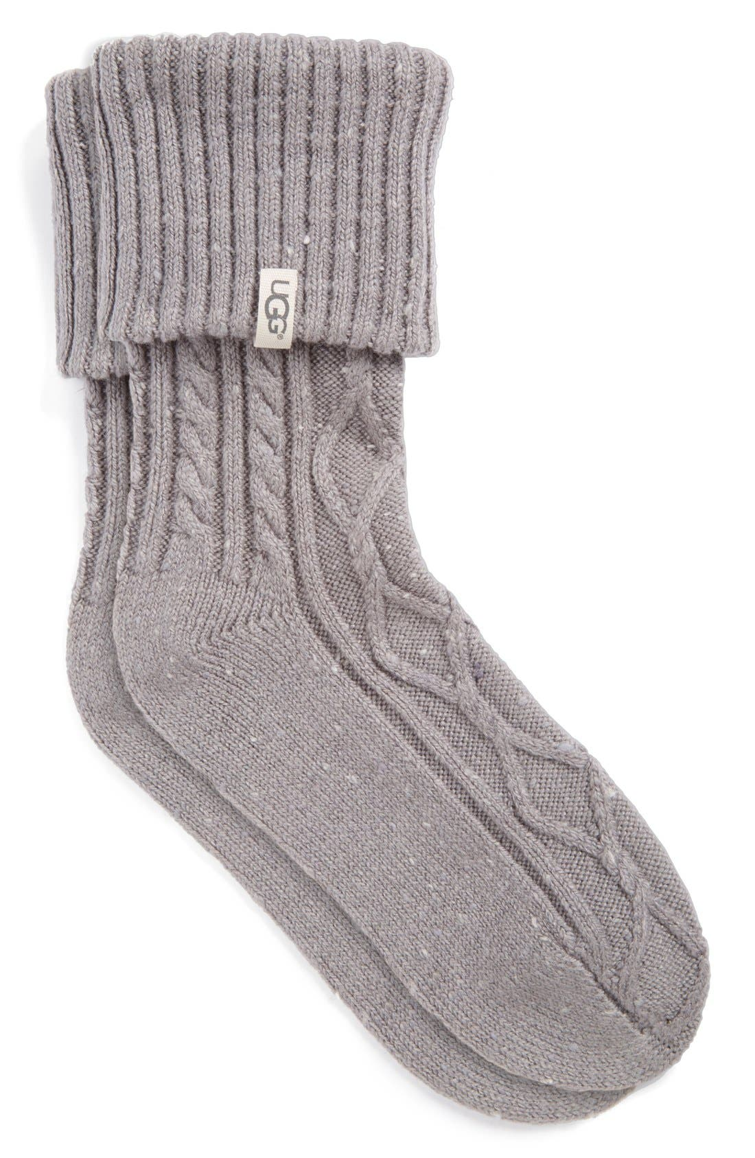 Alternate Image 1 Selected - UGG® 'Sienna' Short Boot Sock