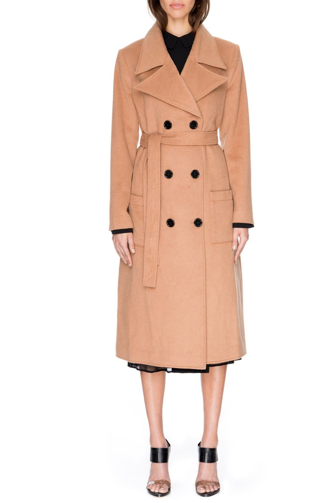 Main Image - C/MEO Collective 'The Glory' Wool Blend Trench Coat