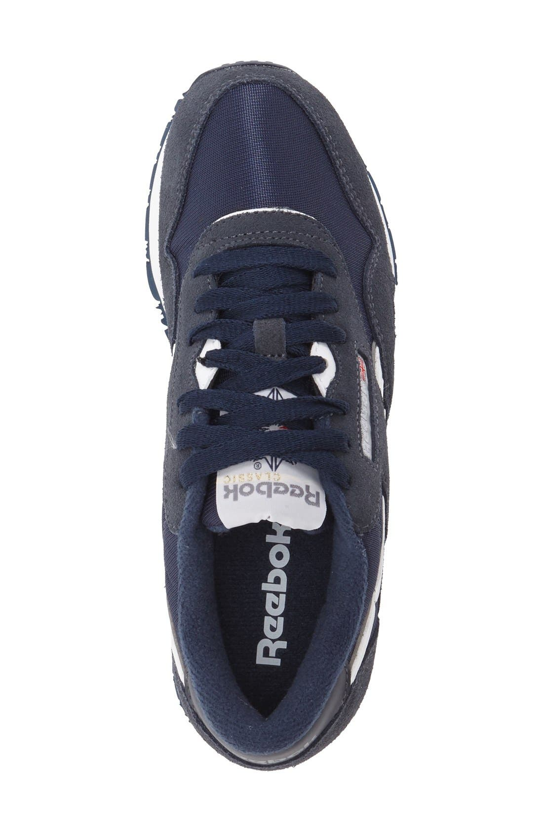 Classic Nylon Sneaker,                             Alternate thumbnail 3, color,                             Team Navy/ Platinum