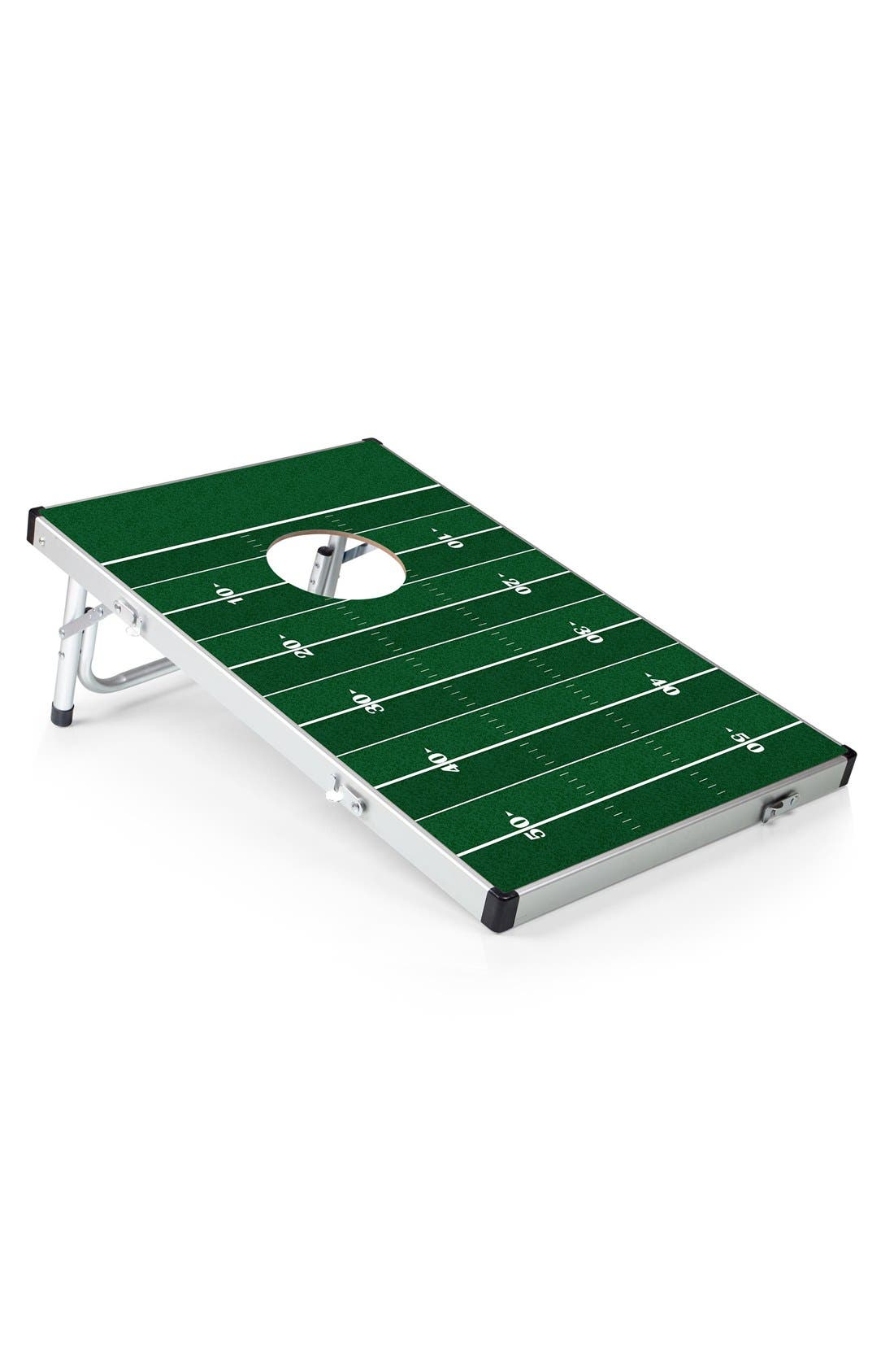 'Football' Bean Bag Toss Game,                         Main,                         color, Green