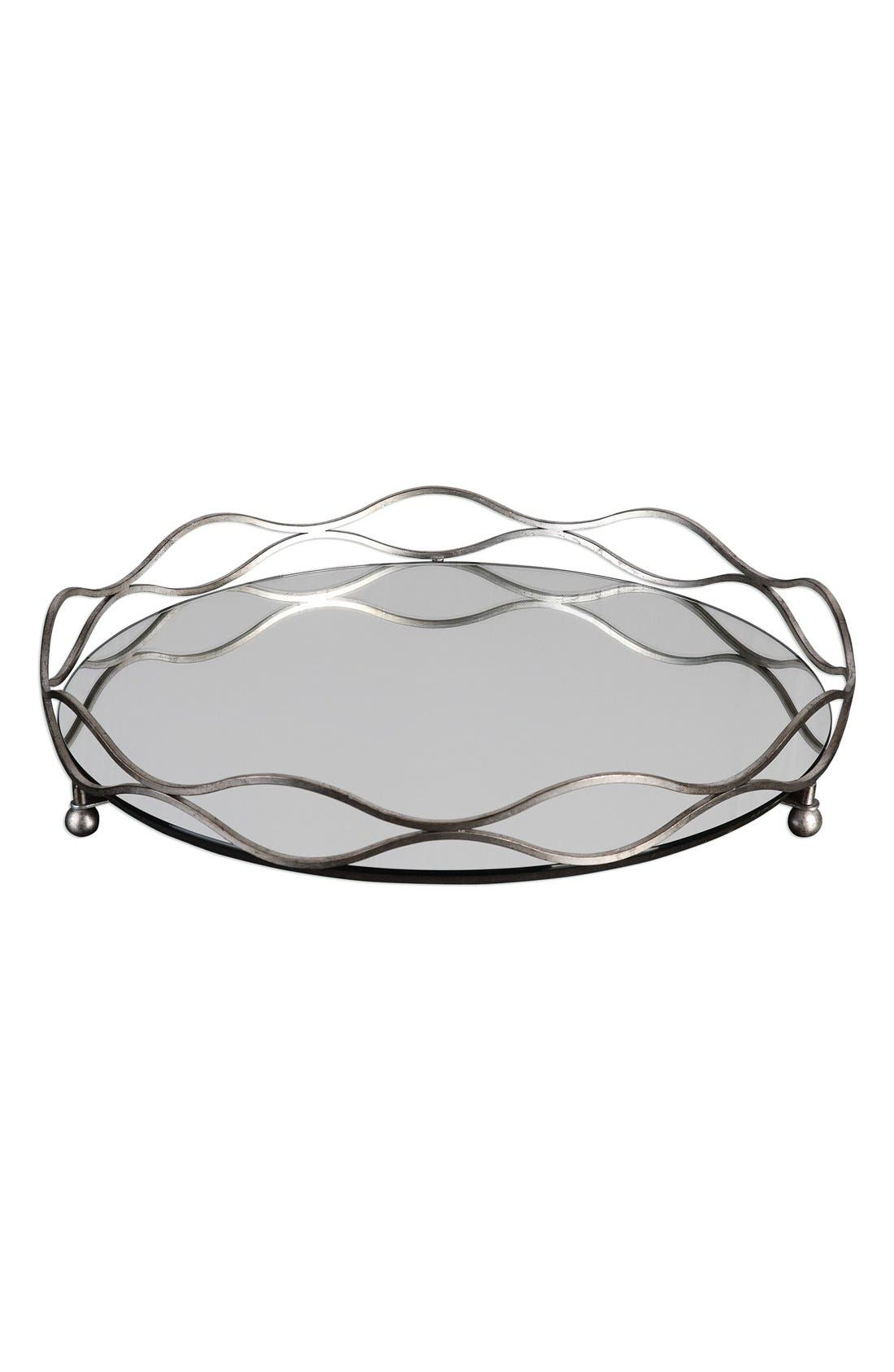 Uttermost Mirrored Tray