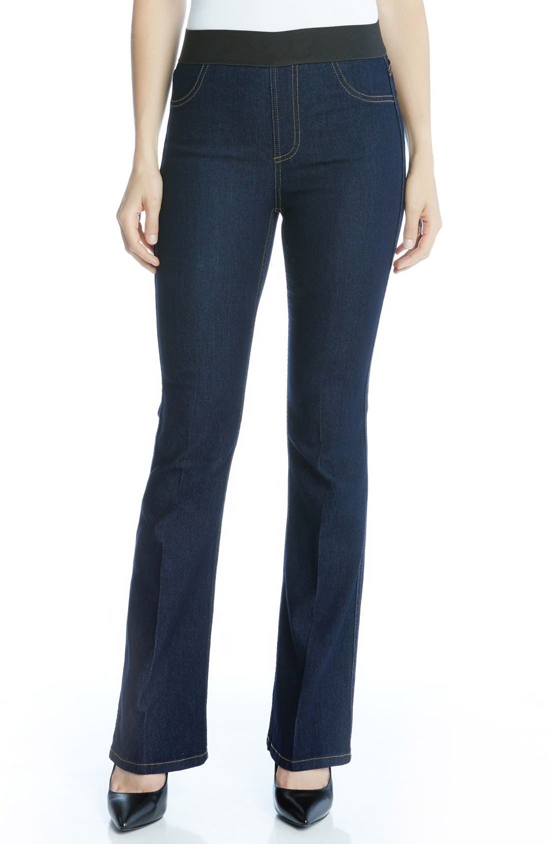 Karen Kane Pull-On Bootcut Jeans