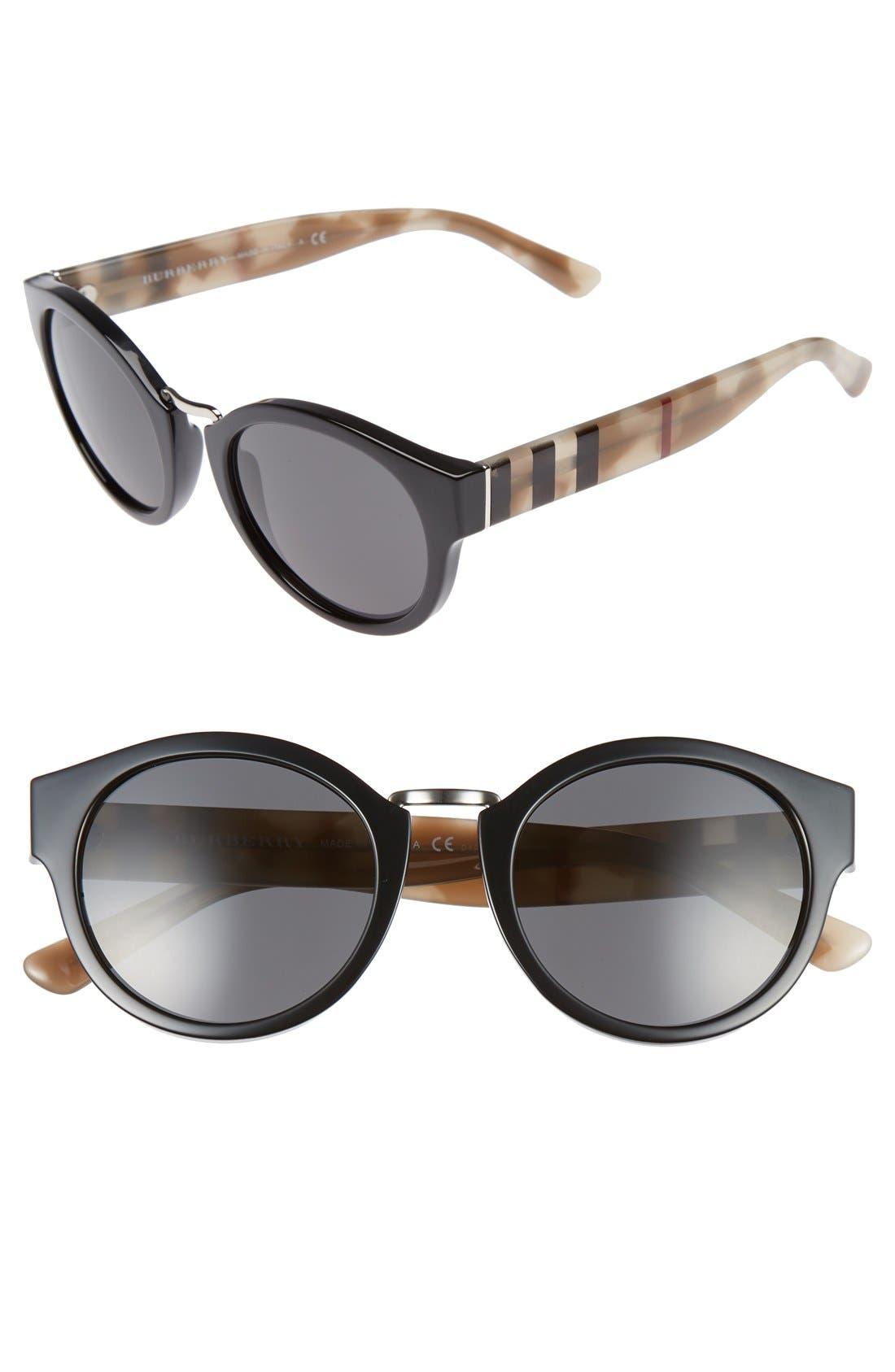 Burberry 50mm Sunglasses