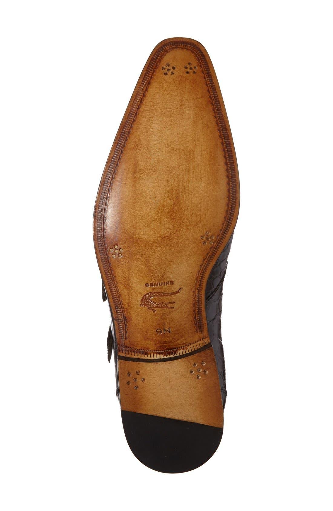 Alternate Image 4  - Mezlan 'Agra' Double Monk Strap Shoe (Men)