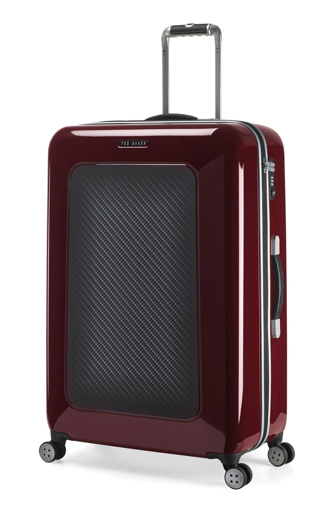 Alternate Image 4  - Ted Baker London 'Large Burgundy' Four Wheel Suitcase (31 Inch)