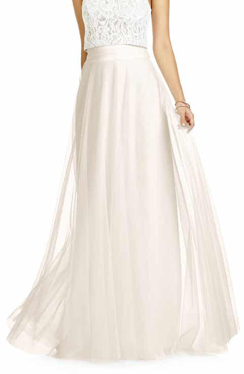 Dessy Collection Full Length Tulle Skirt Top Reviews