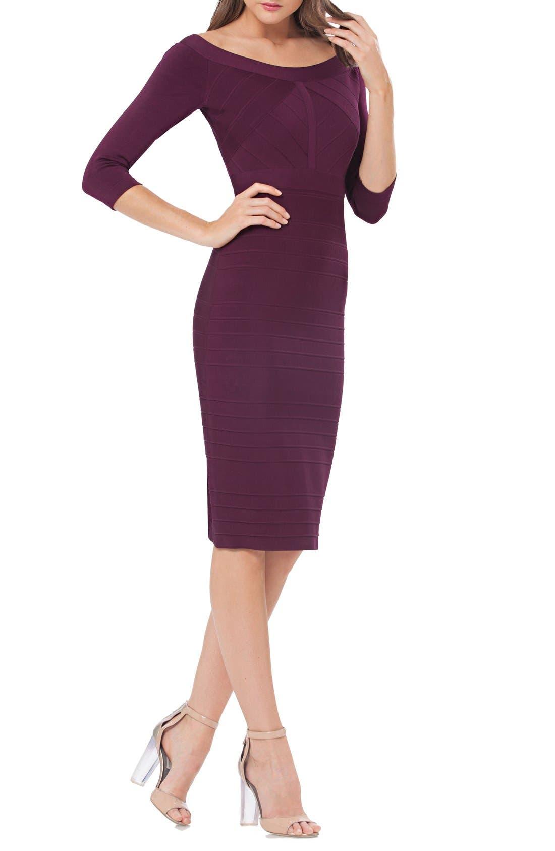 Main Image - JS Collections Bandage Midi Dress