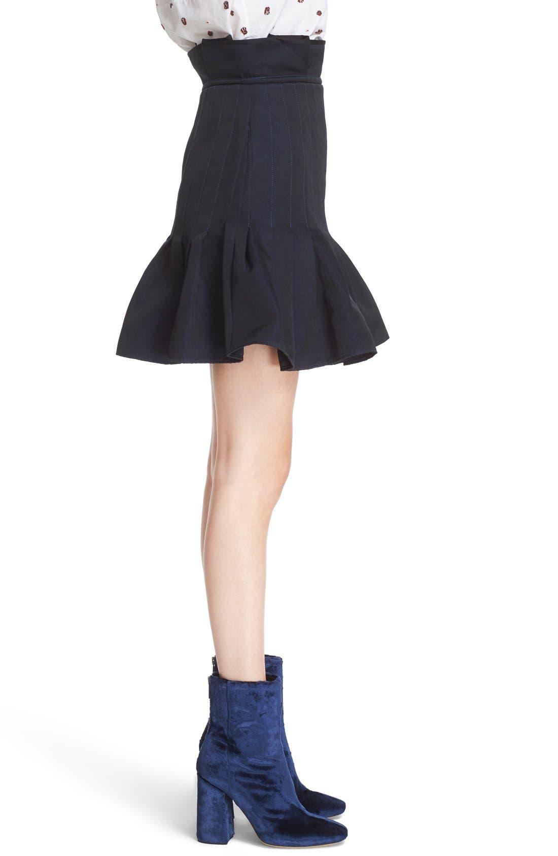 Alternate Image 5  - ELLERY 'Kyoto' Pleated Miniskirt