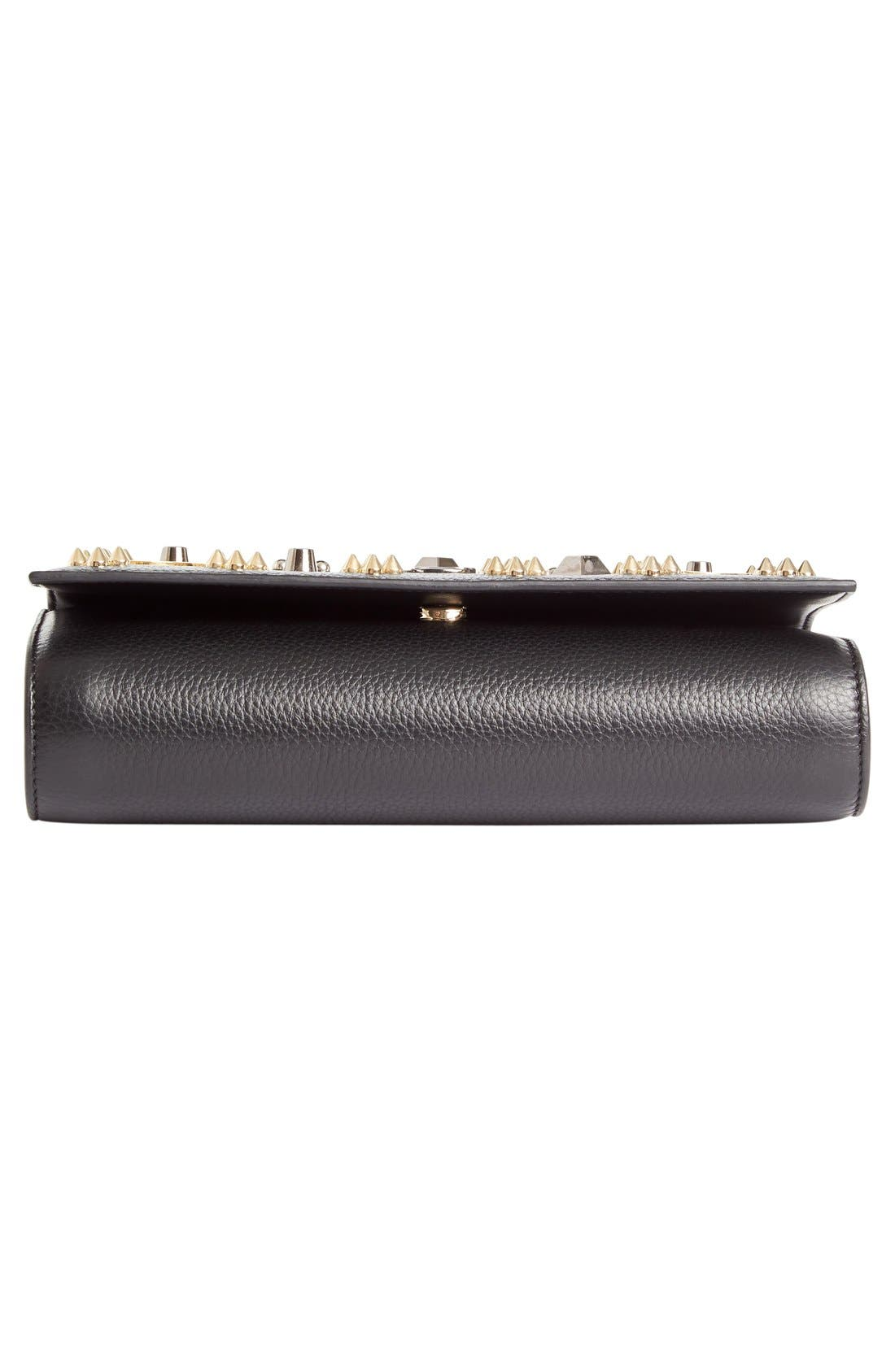 Alternate Image 6  - Christian Louboutin Paloma Empire Calfskin Clutch