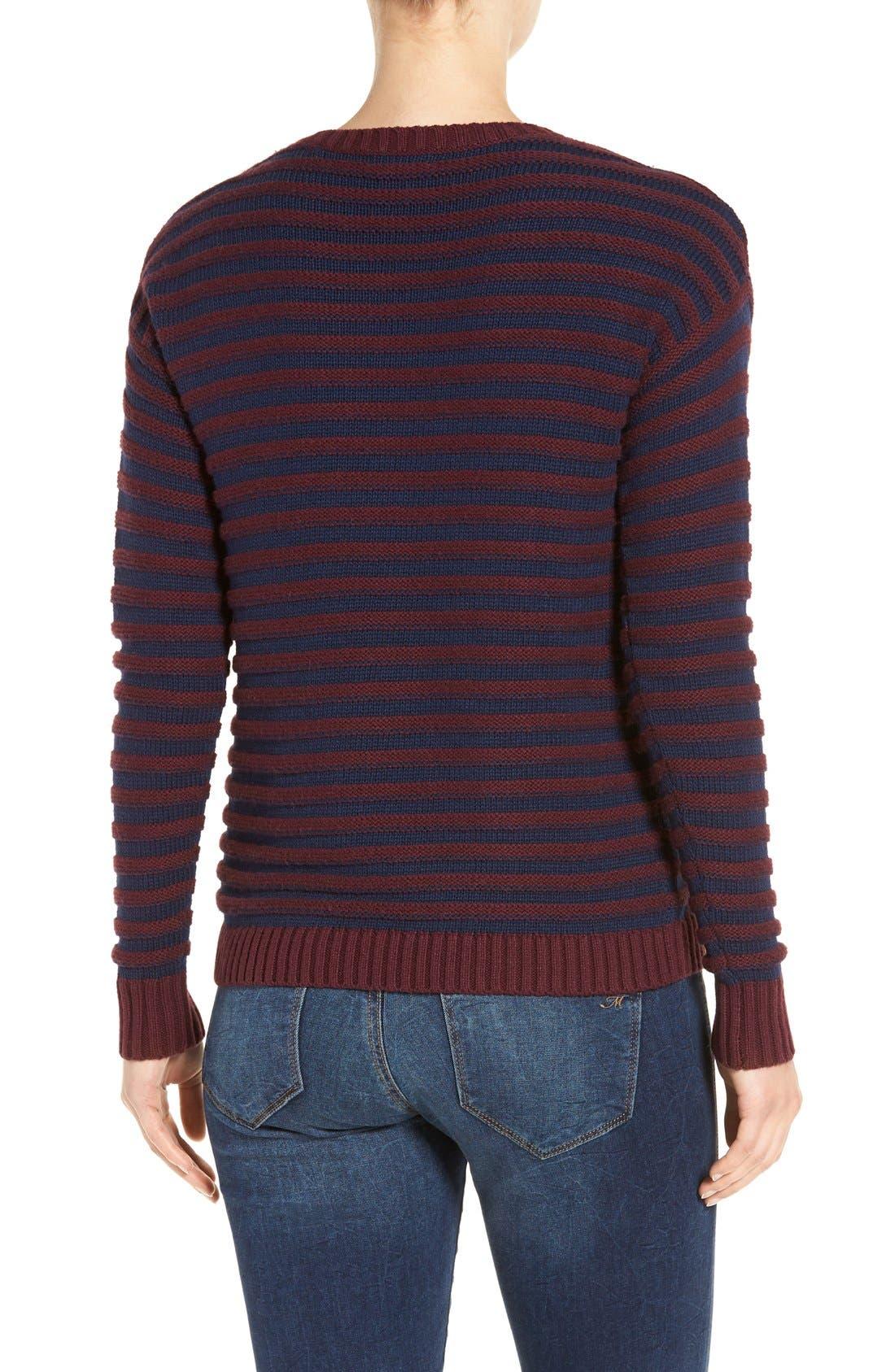 Alternate Image 2  - Caslon® Side Snap Sweater (Regular & Petite)