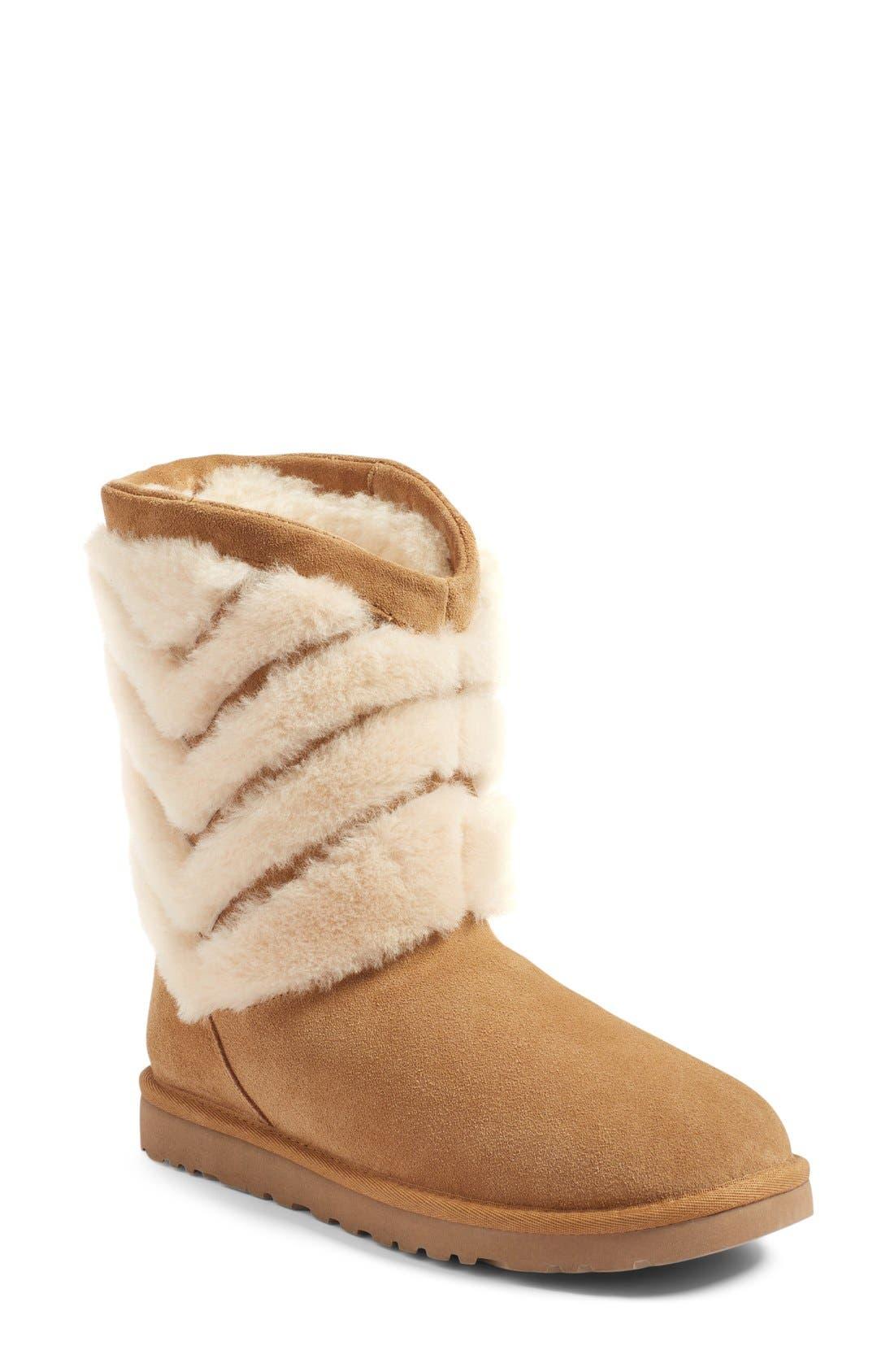 Main Image - UGG® Tania Genuine Shearling Boot (Women)