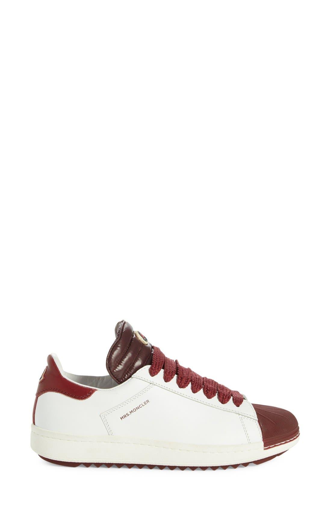 'Angeline Scarpa' Sneaker,                             Alternate thumbnail 4, color,                             Burgundy