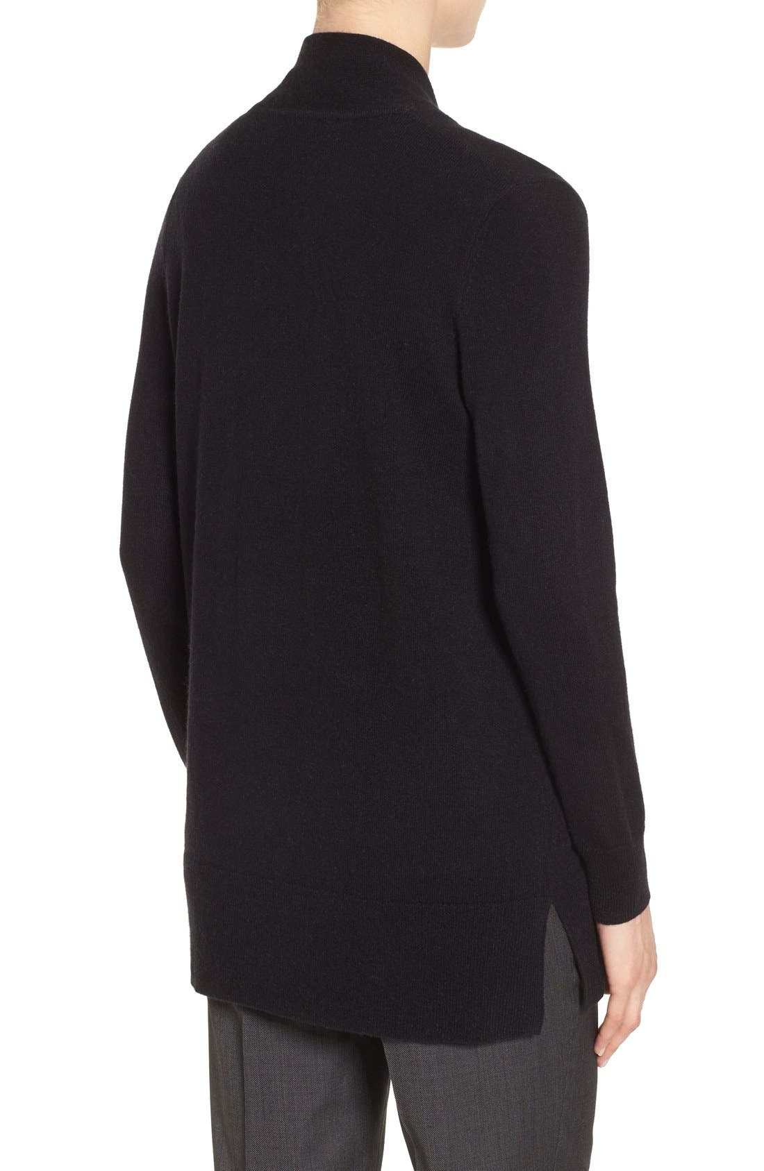 Alternate Image 2  - Nordstrom Collection Open Front Cashmere Cardigan