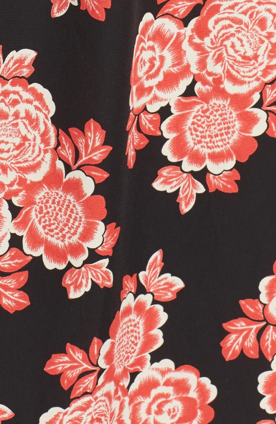 Alternate Image 5  - Fraiche by J Floral Maxi Dress