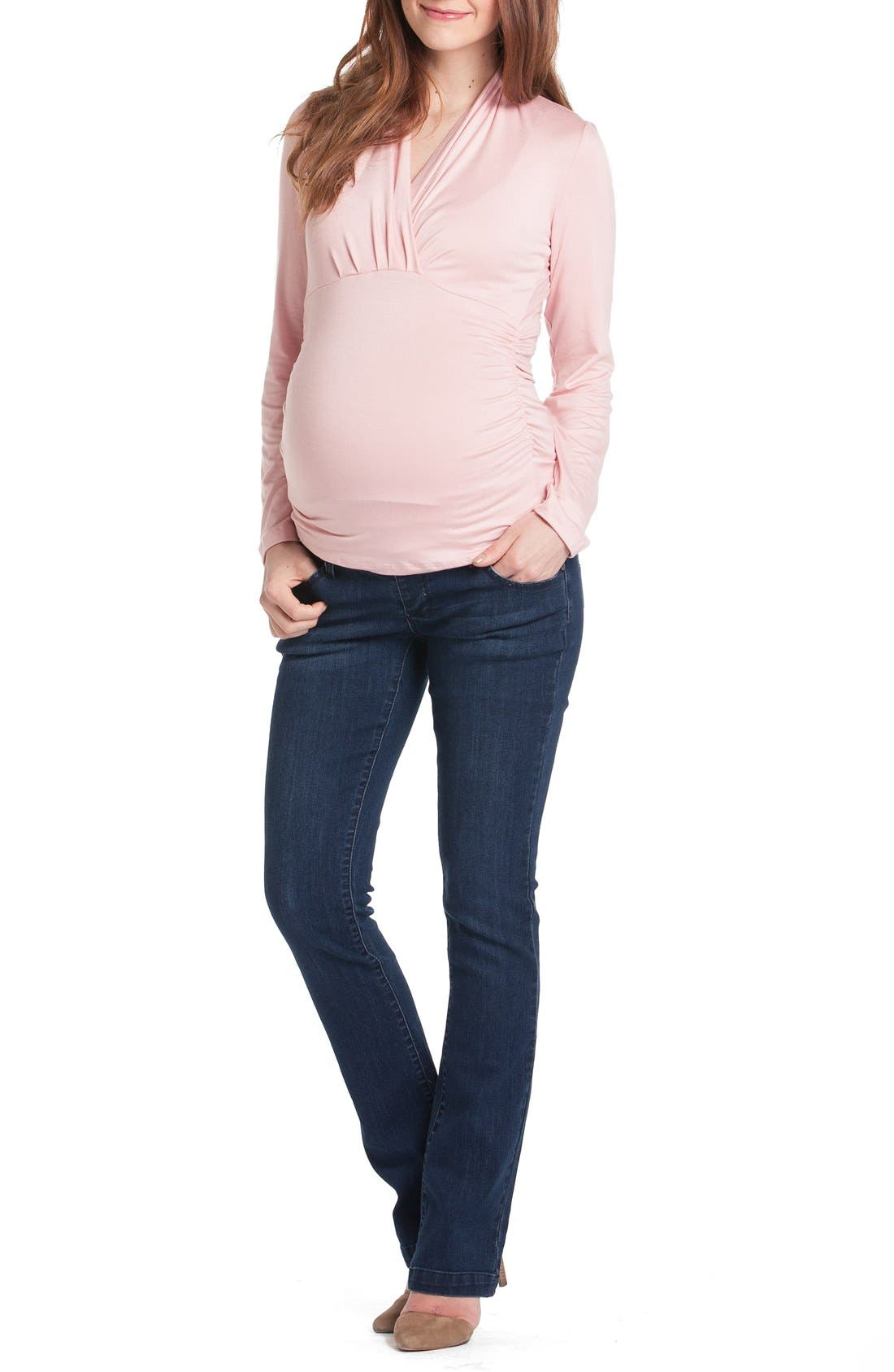 Alternate Image 1 Selected - Lilac Clothing Megan Maternity Top