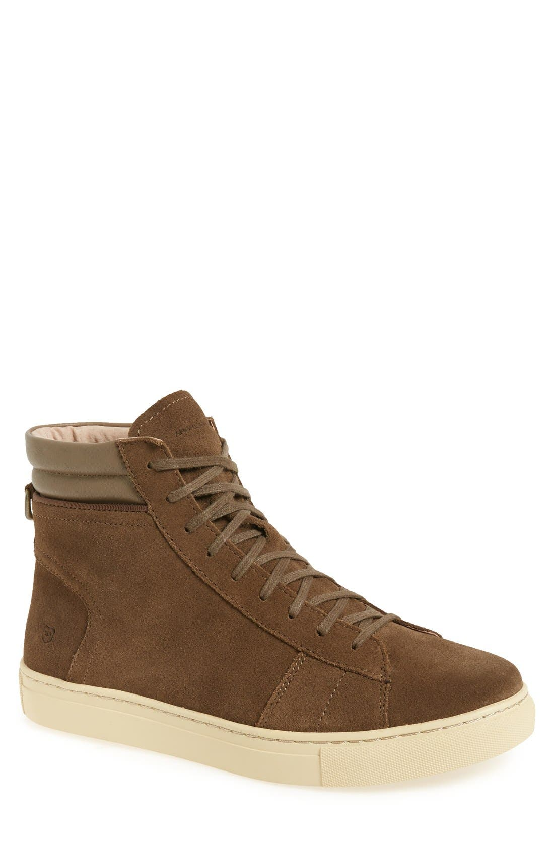 Main Image - Andrew Marc 'Remsen' High Top Sneaker (Men)