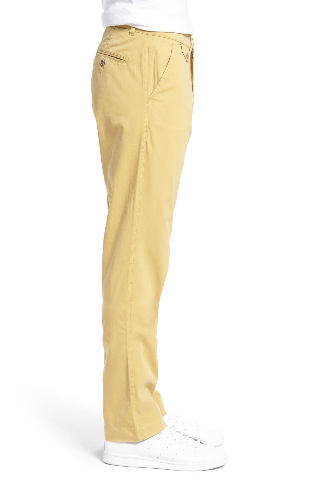 Alternate Image 3  - Vintage 1946 Sunny Modern Fit Stretch Twill Chinos