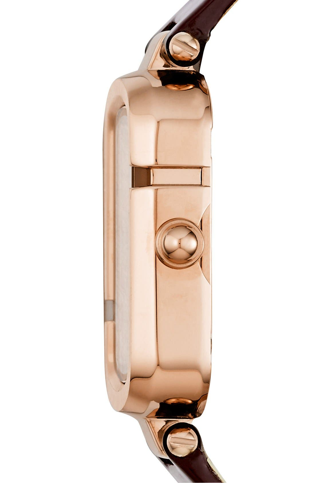 Alternate Image 2  - MARC JACOBS 'The Jacobs' Leather Strap Watch, 30mm