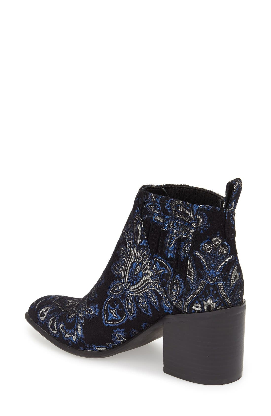 Alternate Image 2  - Jeffrey Campbell 'Viggio' Brocade Bootie (Women)