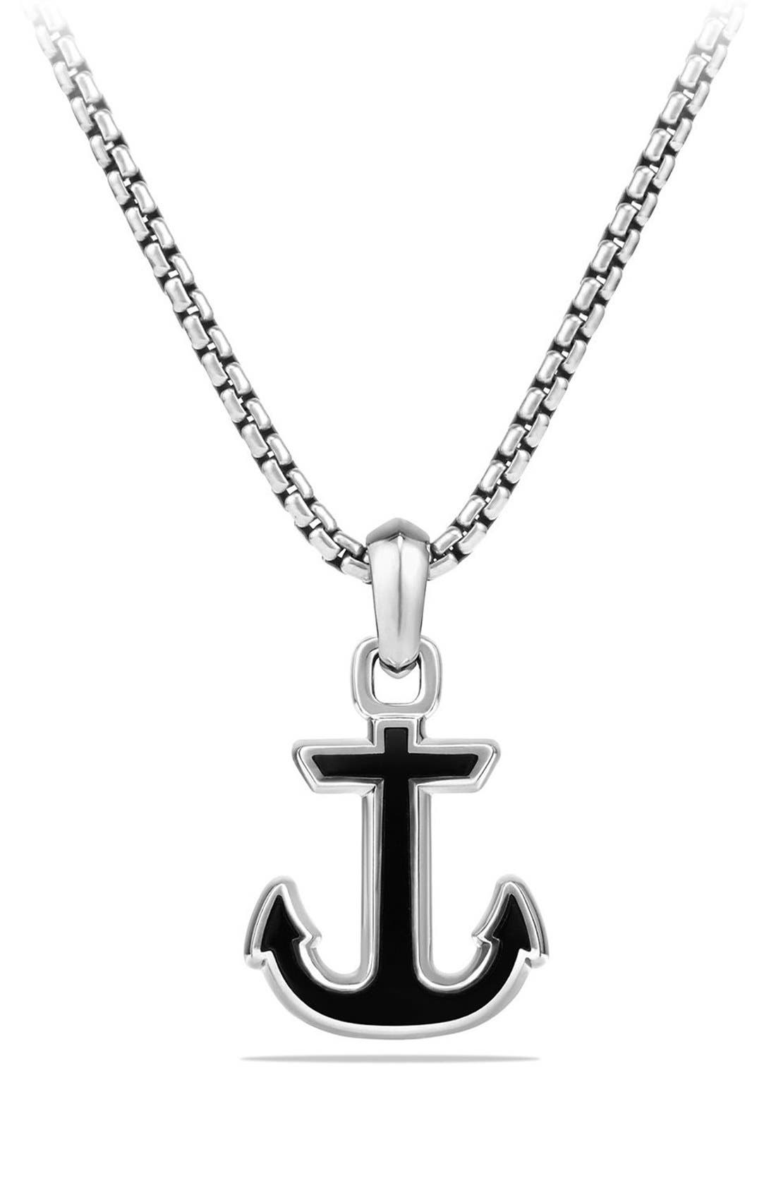 Alternate Image 1 Selected - David Yurman 'Maritime' Anchor Amulet
