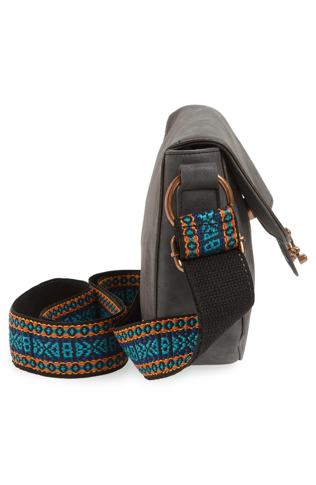 Alternate Image 5  - Elle & Jae Gypset 'Marrakesh' Faux Suede Crossbody Bag