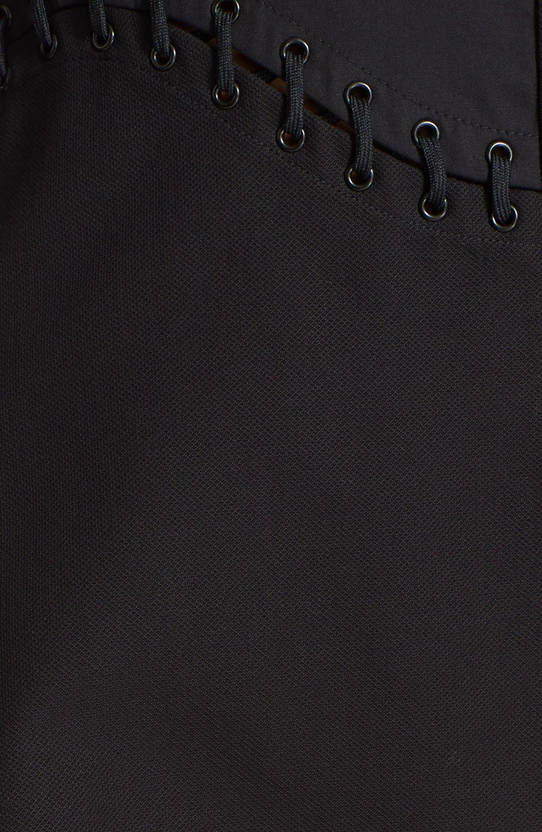 Alternate Image 3  - Alexander Wang Lace Detail Fit & Flare Shirtdress