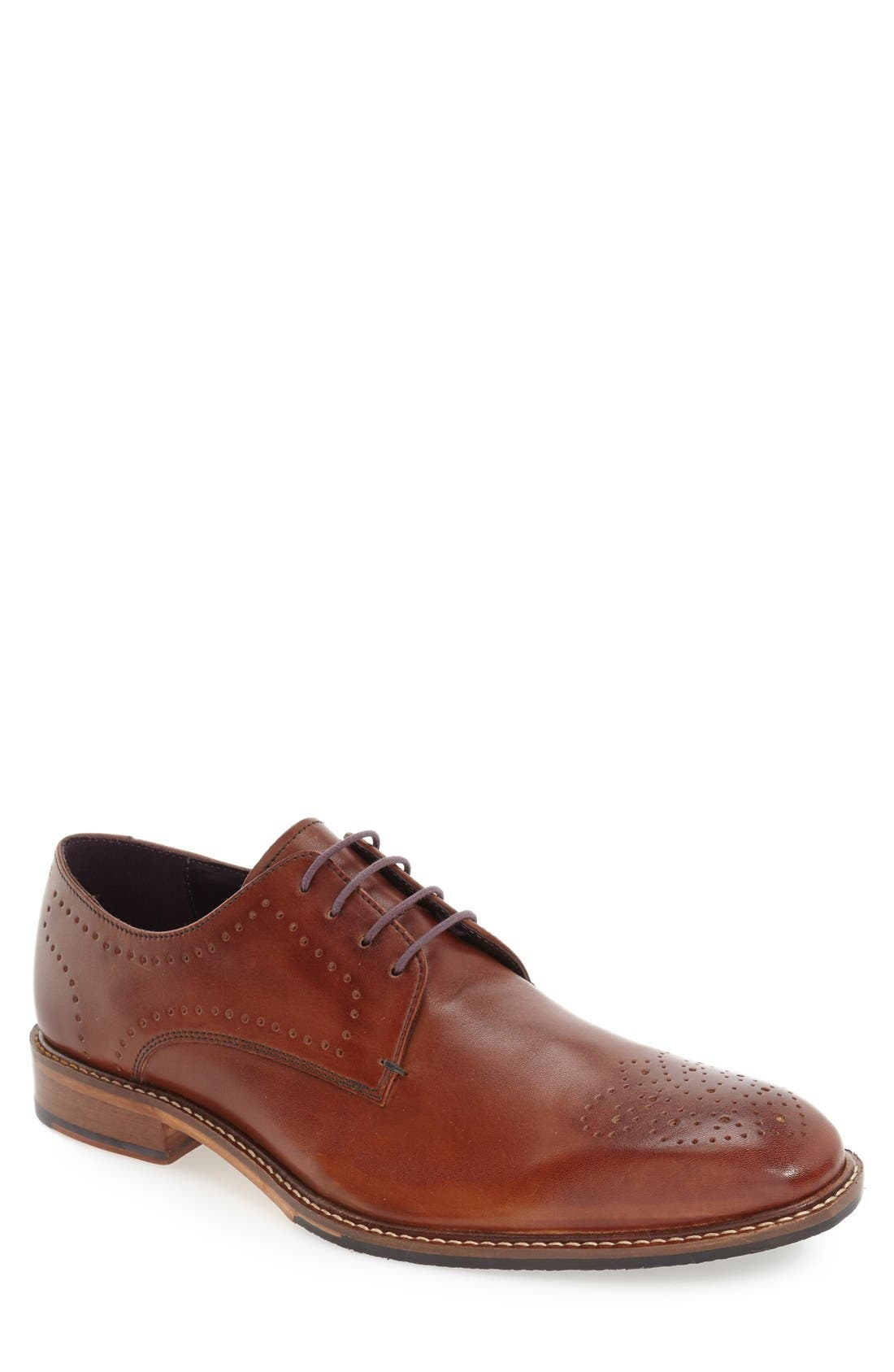 Ted Baker London Marar Leather Brogue Toe Derby