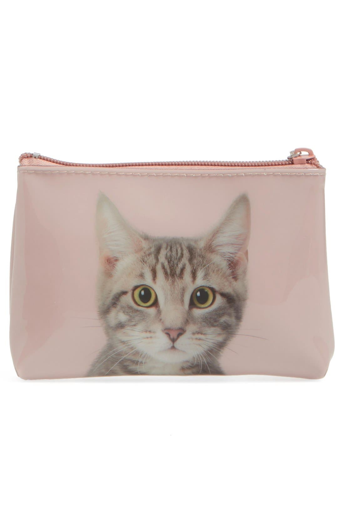 Alternate Image 2  - Catseye London Small Kitty Zip Pouch
