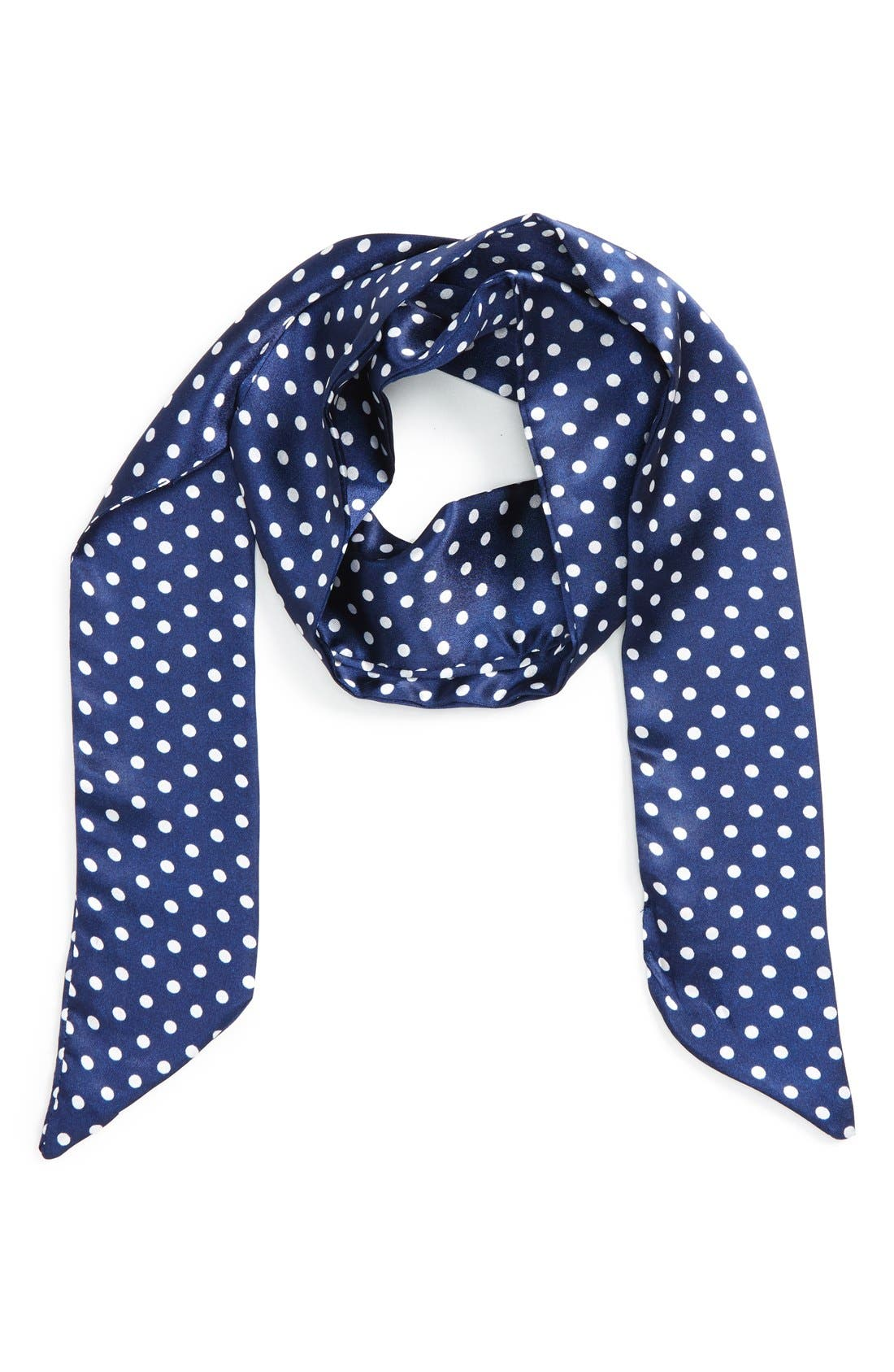 Main Image - BP. Dot Skinny Scarf