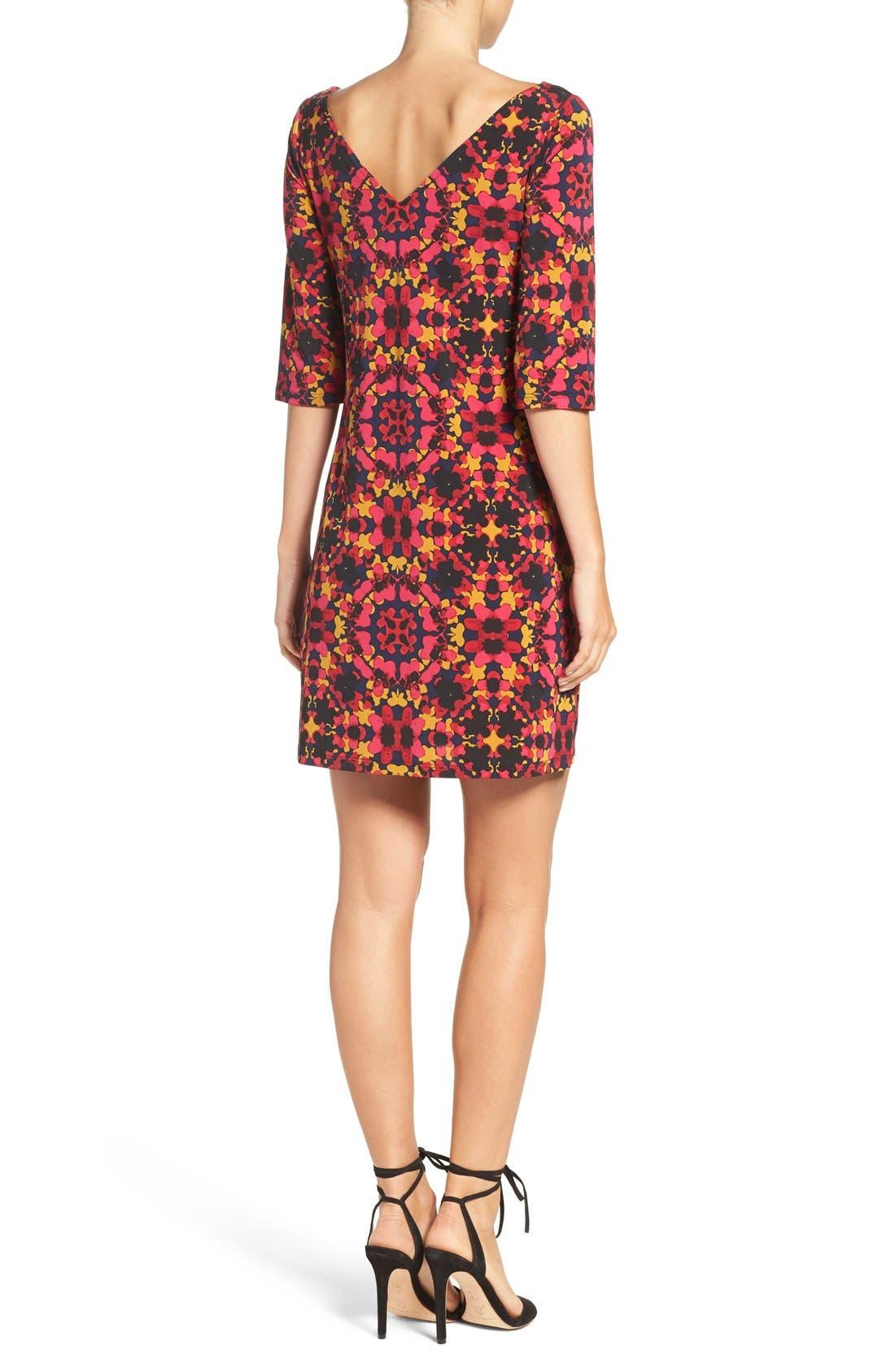 Alternate Image 2  - Leota Dolman Sleeve Jersey Sheath Dress