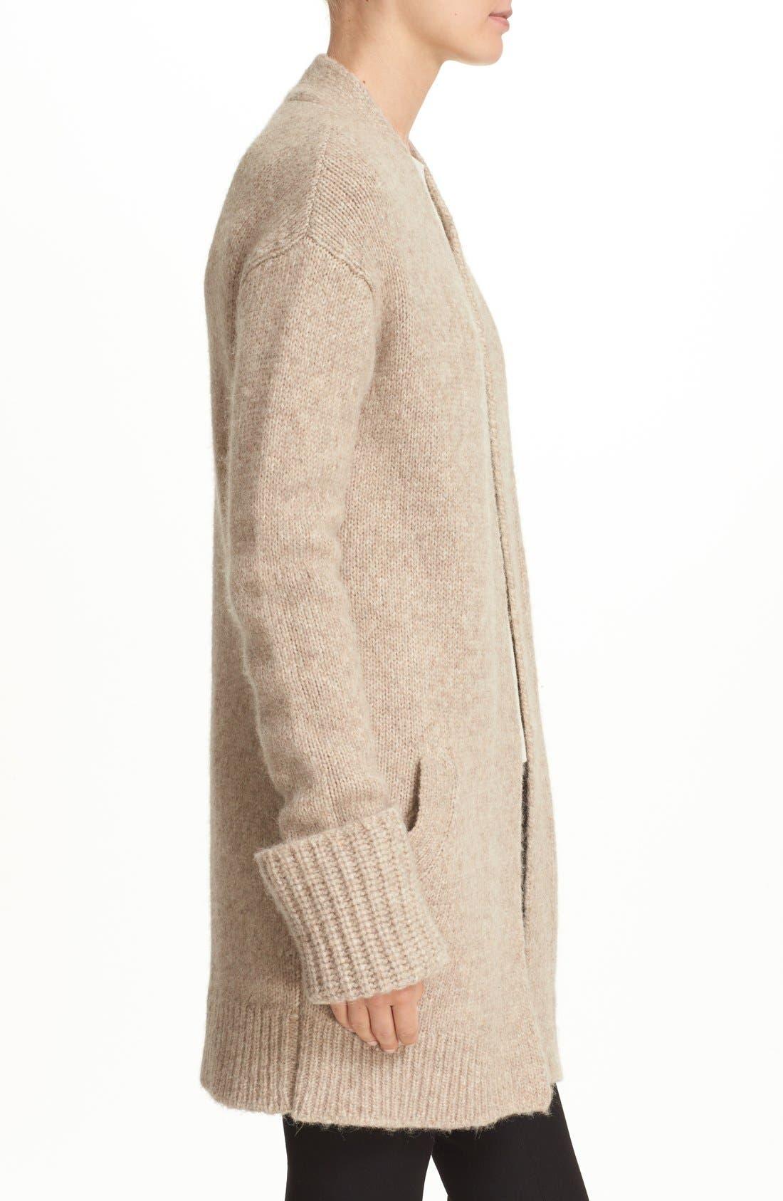Alternate Image 3  - Theory 'Analiese B Hazy' Alpaca Blend Open Front Cardigan