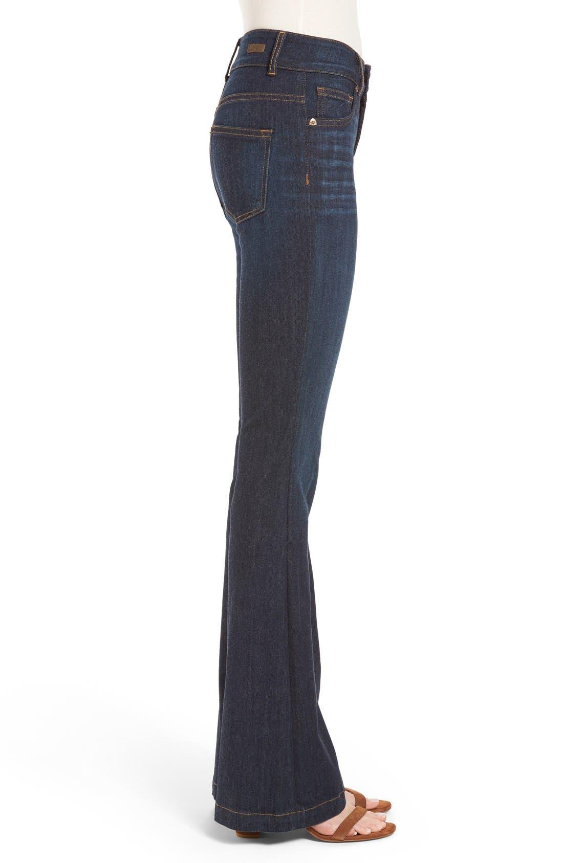 Alternate Image 3  - KUT from the Kloth 'Chrissy' Flare Leg Jeans (Brightness)
