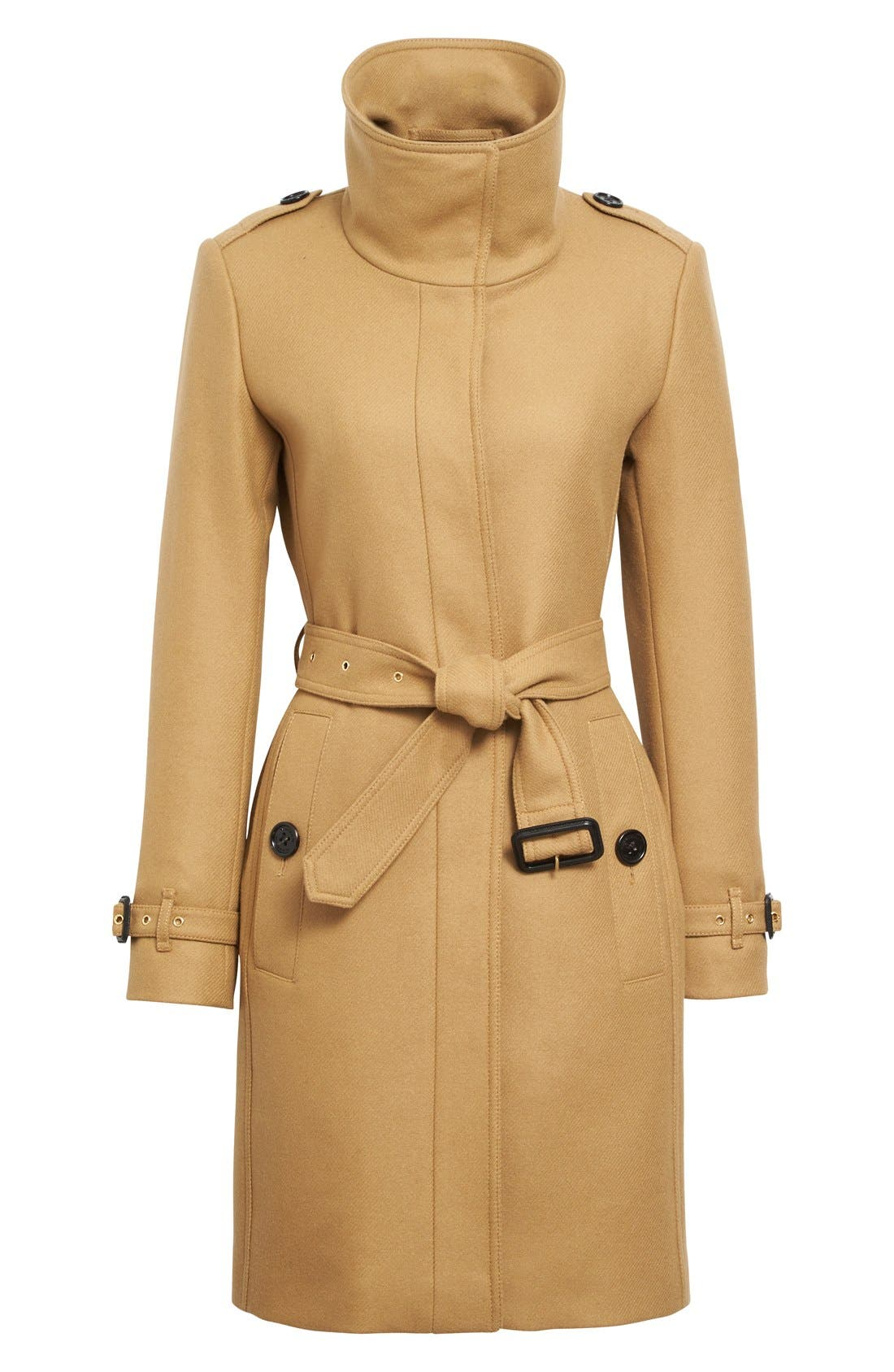 Alternate Image 4  - Burberry Gibbsmoore Funnel Collar Trench Coat (Nordstrom Exclusive)