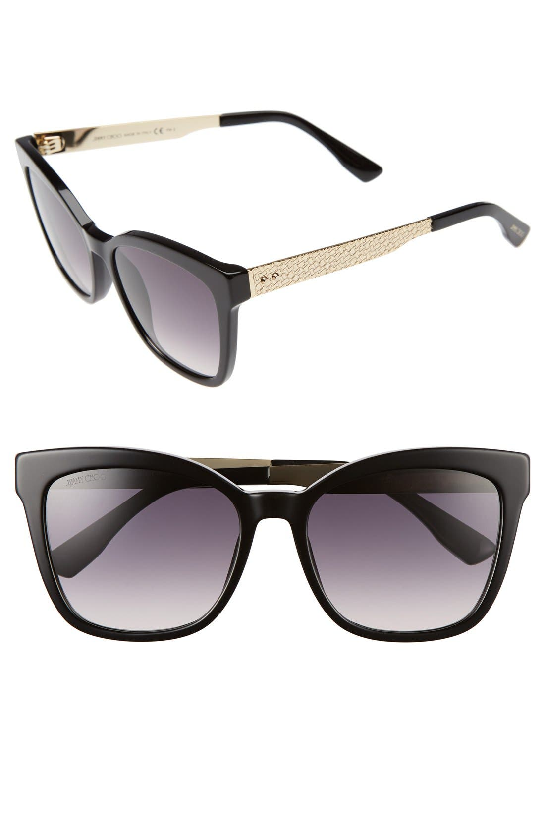 Alternate Image 1 Selected - Jimmy Choo 55mm Retro Sunglasses