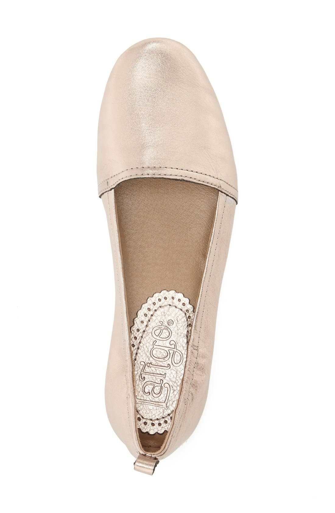 Alternate Image 3  - Latigo 'Bettie' Leather Flat (Women)