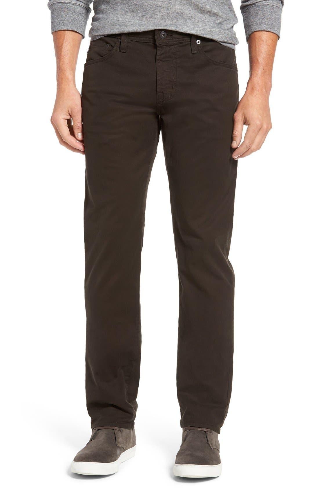 'Matchbox BES' Slim Fit Pants,                         Main,                         color, Deep Bark