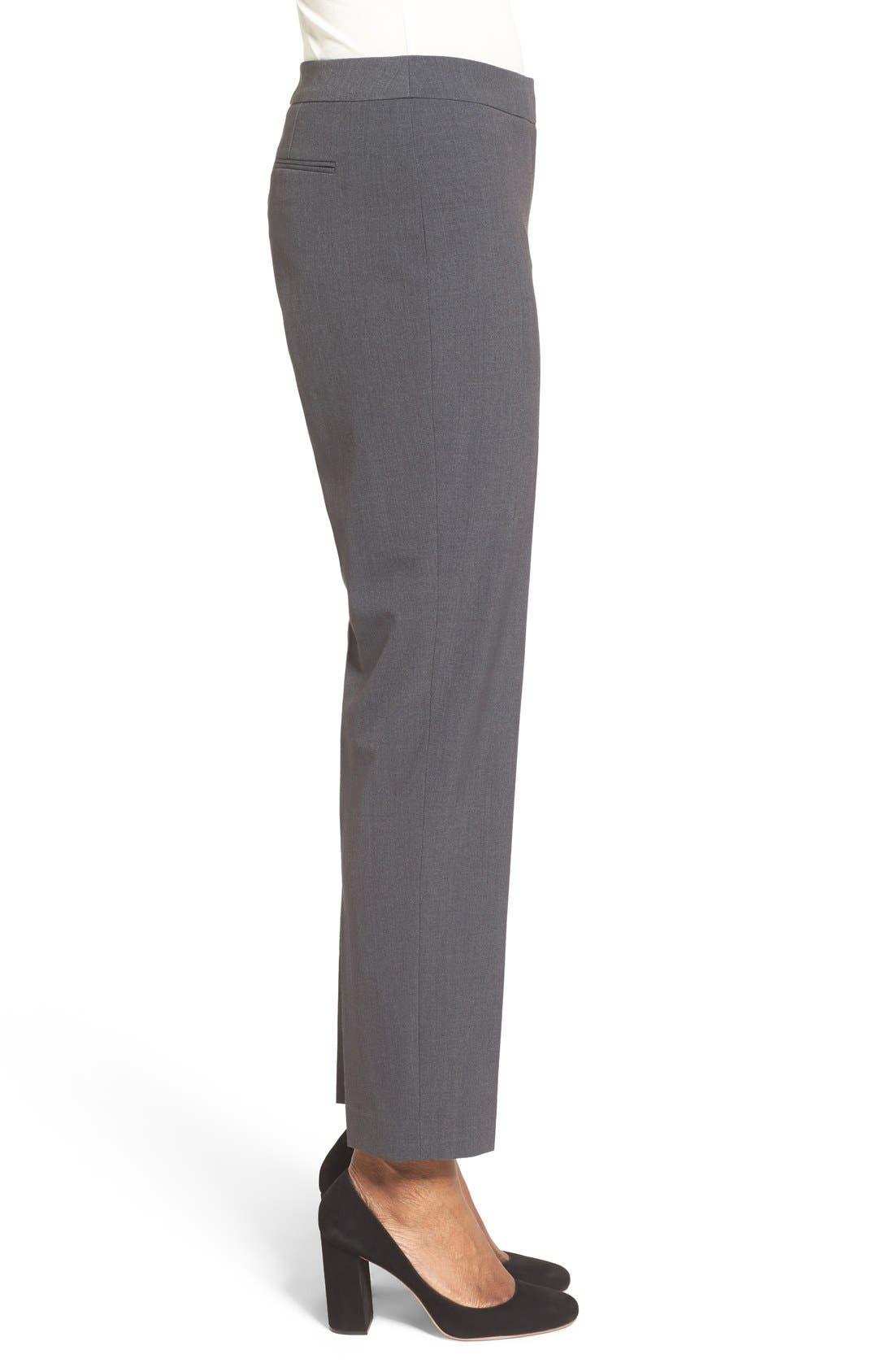 Alternate Image 4  - Anne Klein Slim Suit Pants