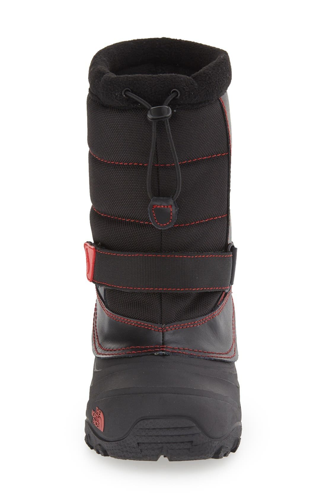 'Alpenglow Extreme II' Waterproof Snow Boot,                             Alternate thumbnail 3, color,                             Black/ Red