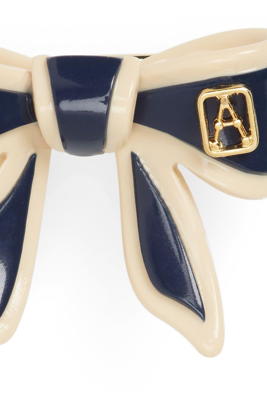 Alternate Image 2  - Alexandre de Paris 'Mini Tenderly' Bow Barrette