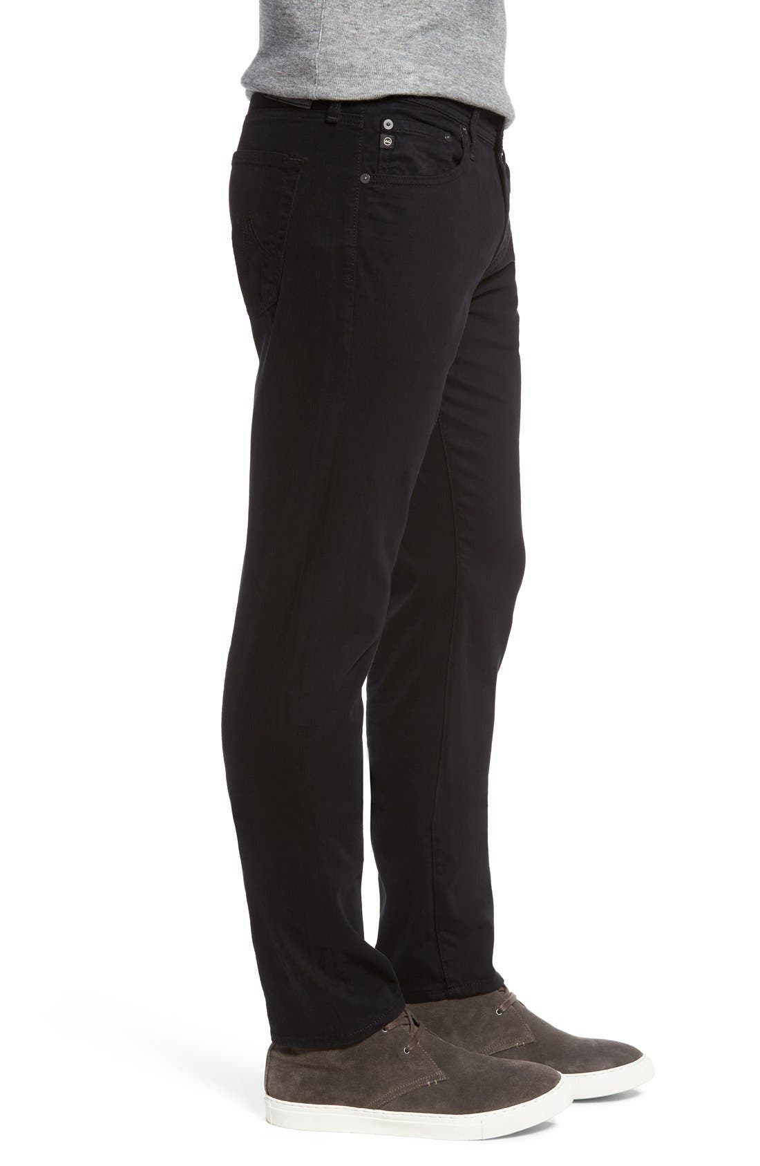 Dylan Slim Fit Pants,                             Alternate thumbnail 3, color,                             1 Year Black Night