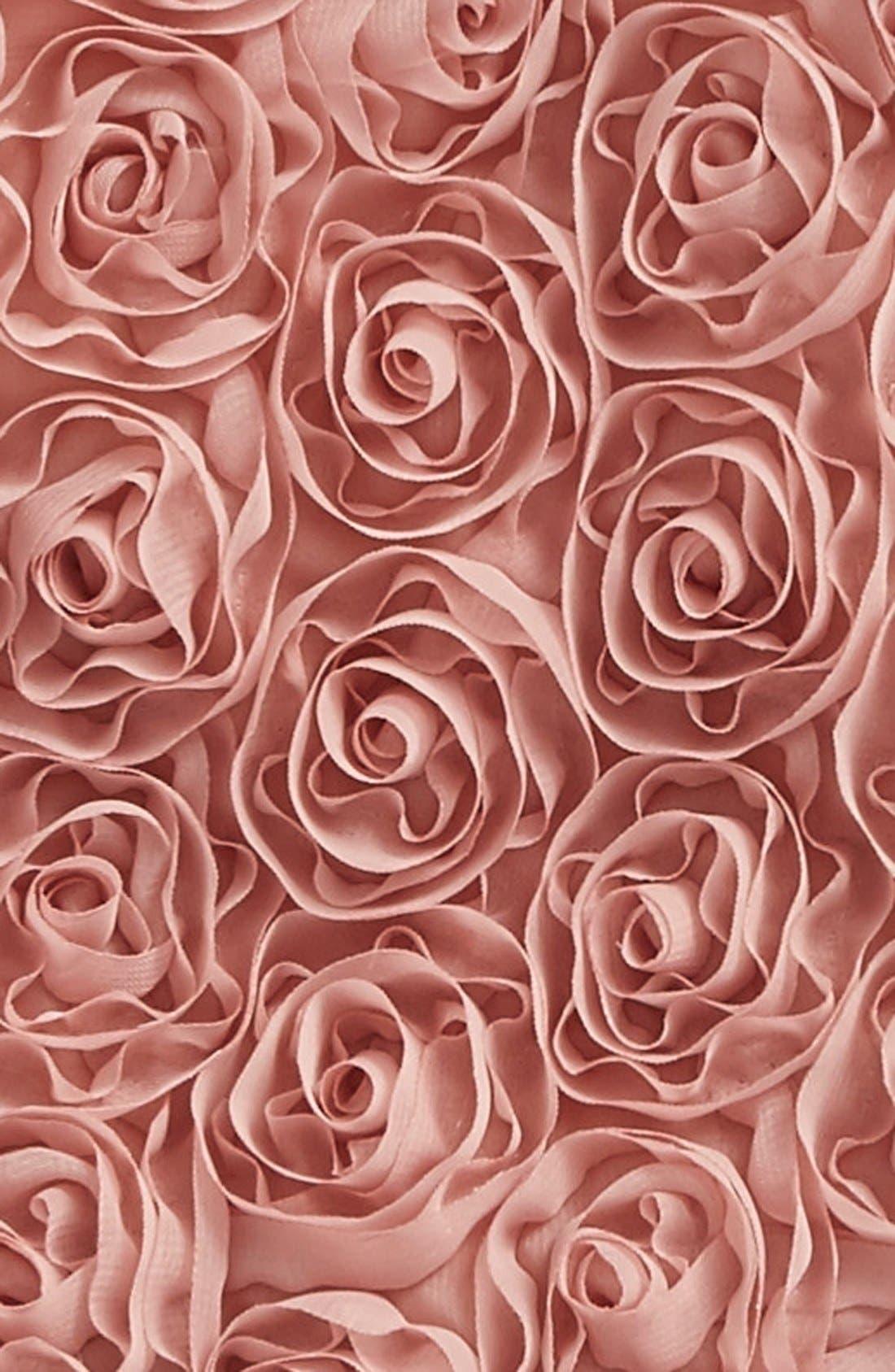 Ribbon Rosette Pettidress,                             Alternate thumbnail 2, color,                             Dusty Pink