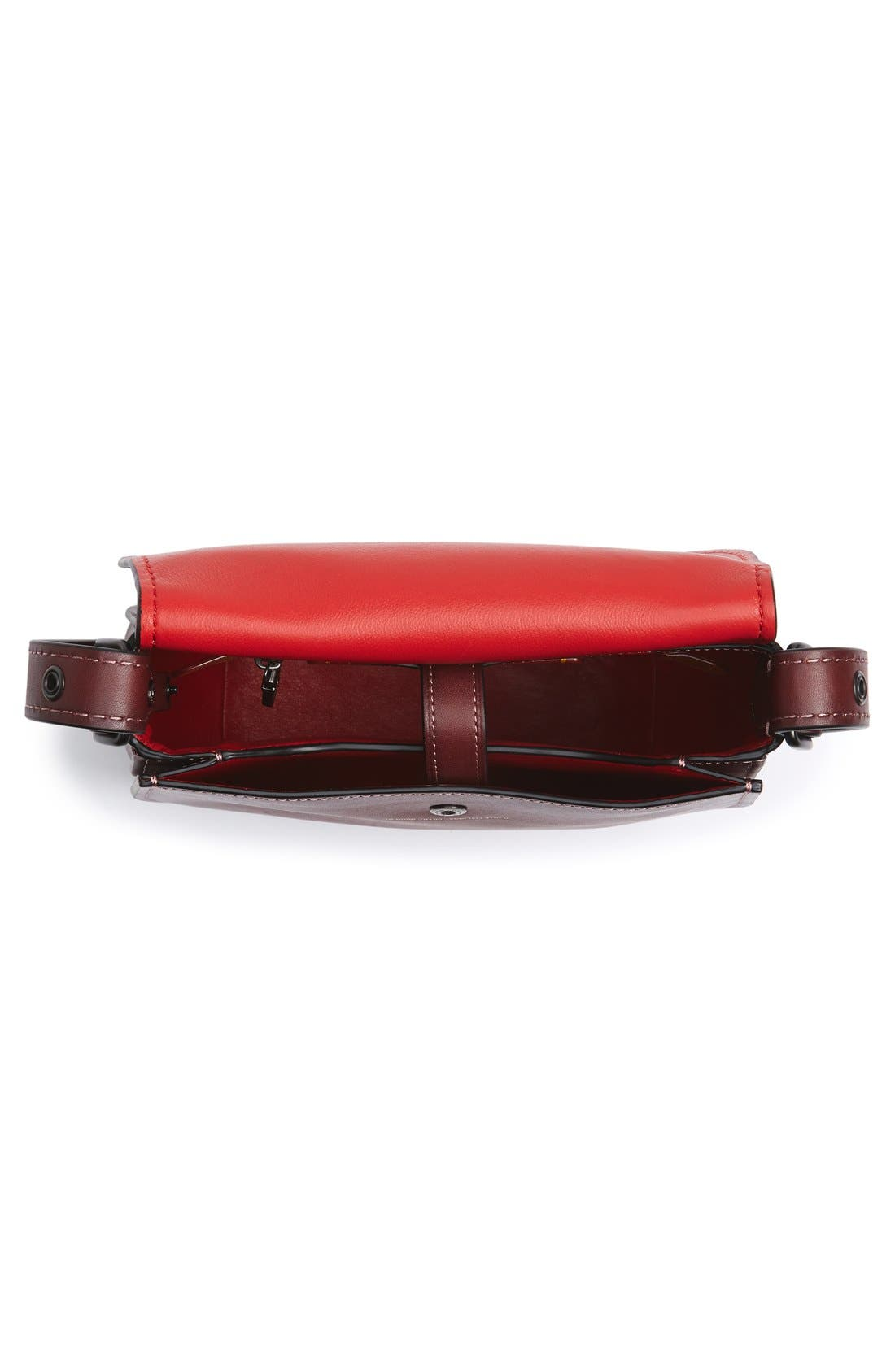 Alternate Image 4  - COACH 1941 '23' Leather Saddle Bag