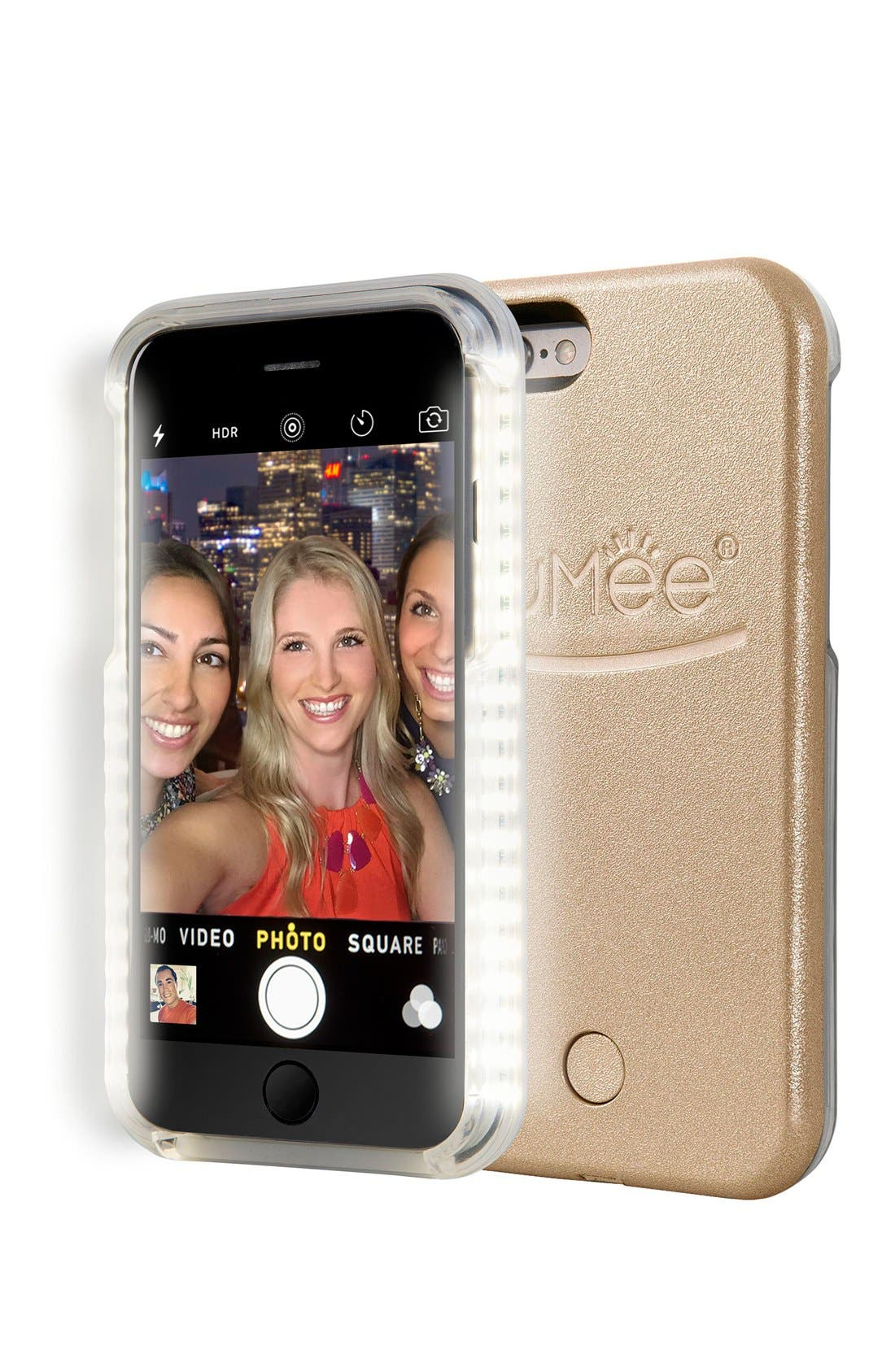 Alternate Image 1 Selected - LuMee Lighted iPhone Case (6/6s/6 Plus & 6s Plus)