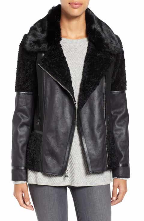 Women's Shearling Coats & Jackets | Nordstrom