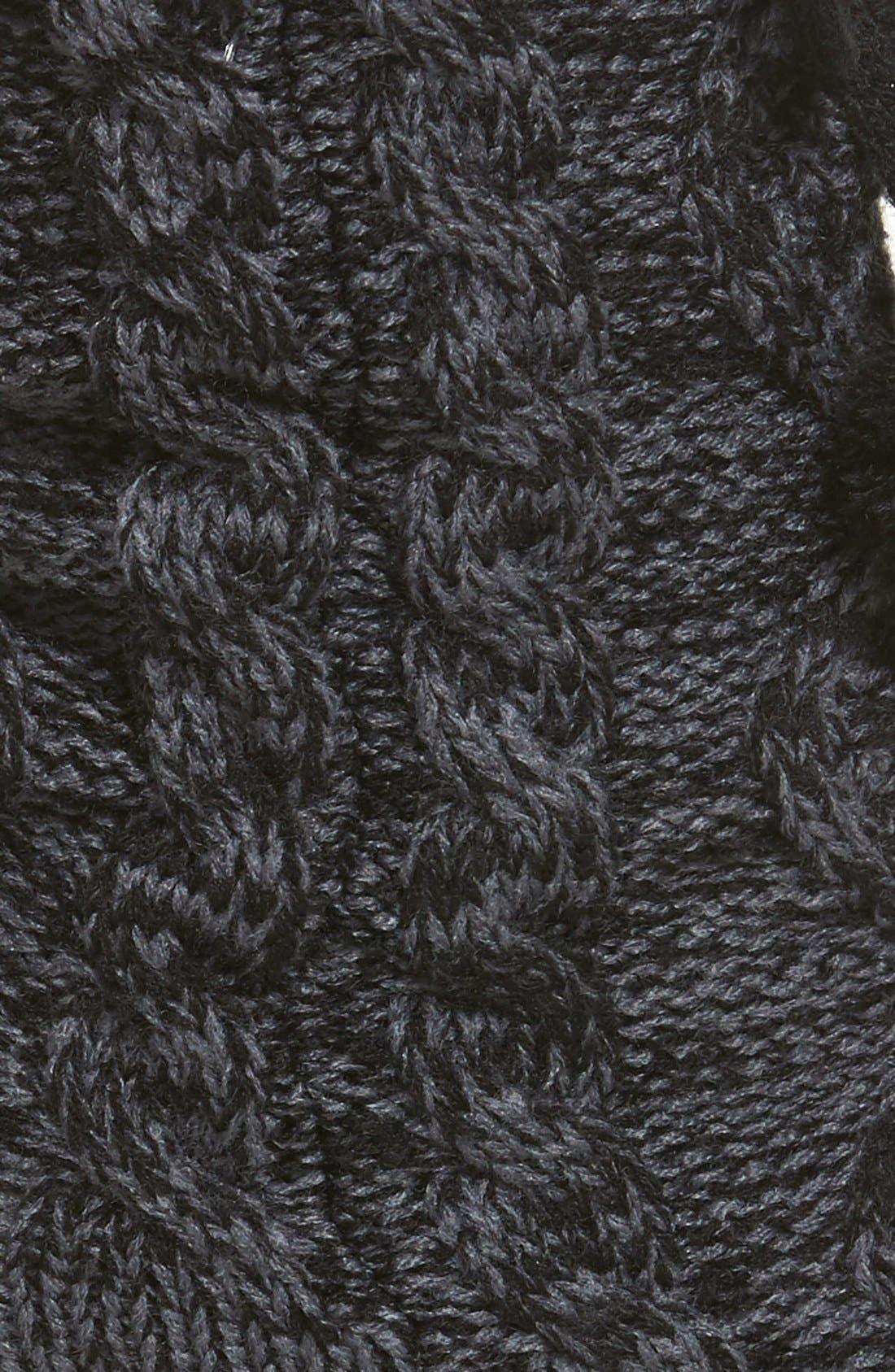 Fleece Lined Socks,                             Alternate thumbnail 2, color,                             Nightfall