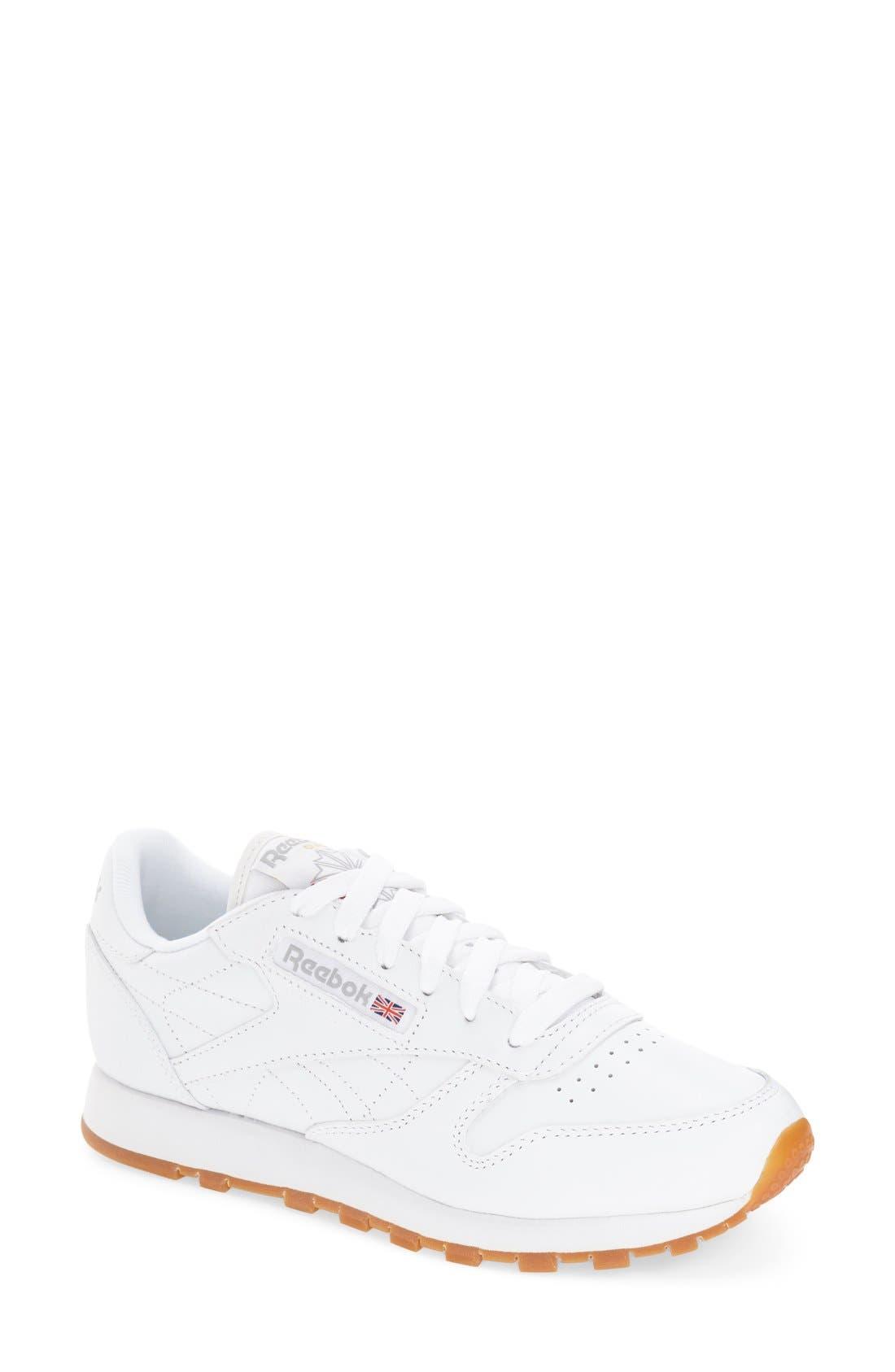 reebok classic high top shoes. main image - reebok \u0027classic\u0027 sneaker classic high top shoes