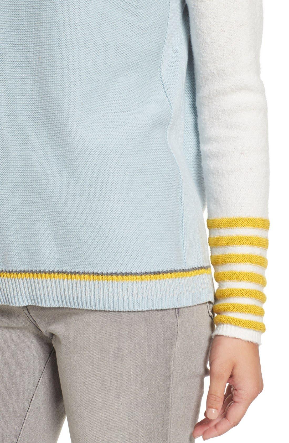 Alternate Image 4  - Caslon® Button Back Sweater (Regular & Petite)