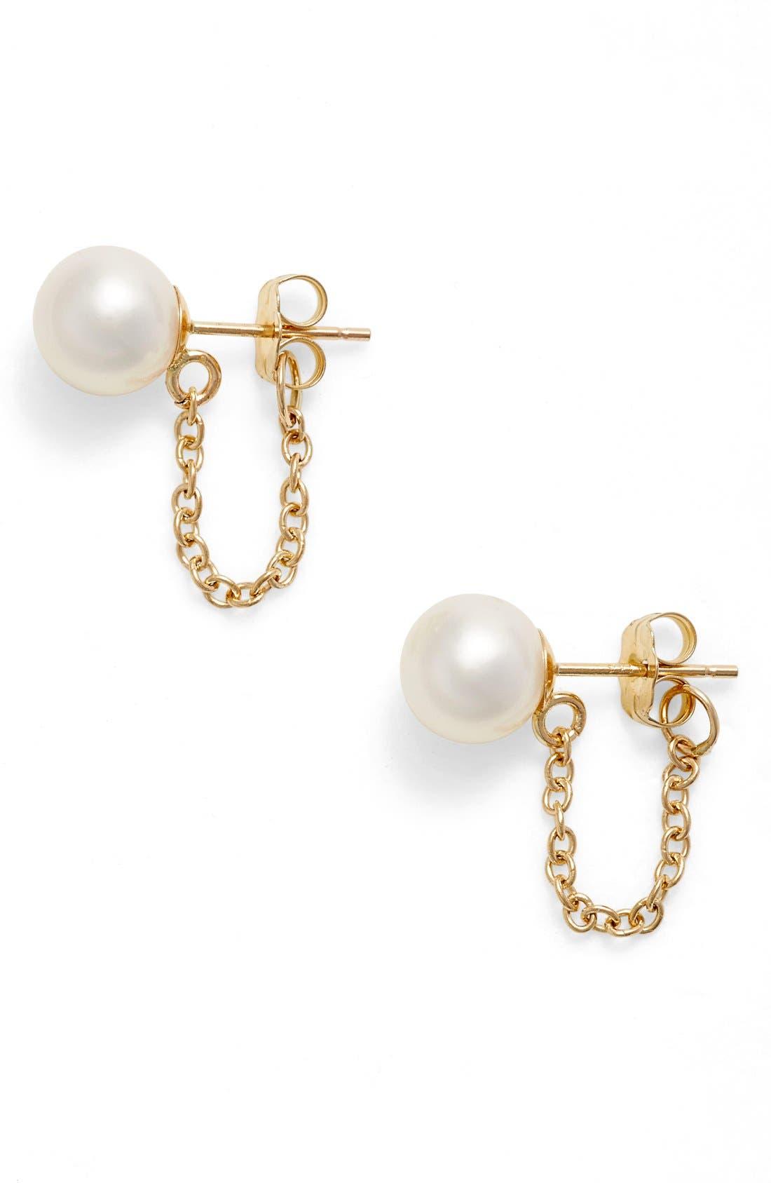Main Image - Poppy Finch Pearl Ear Chains