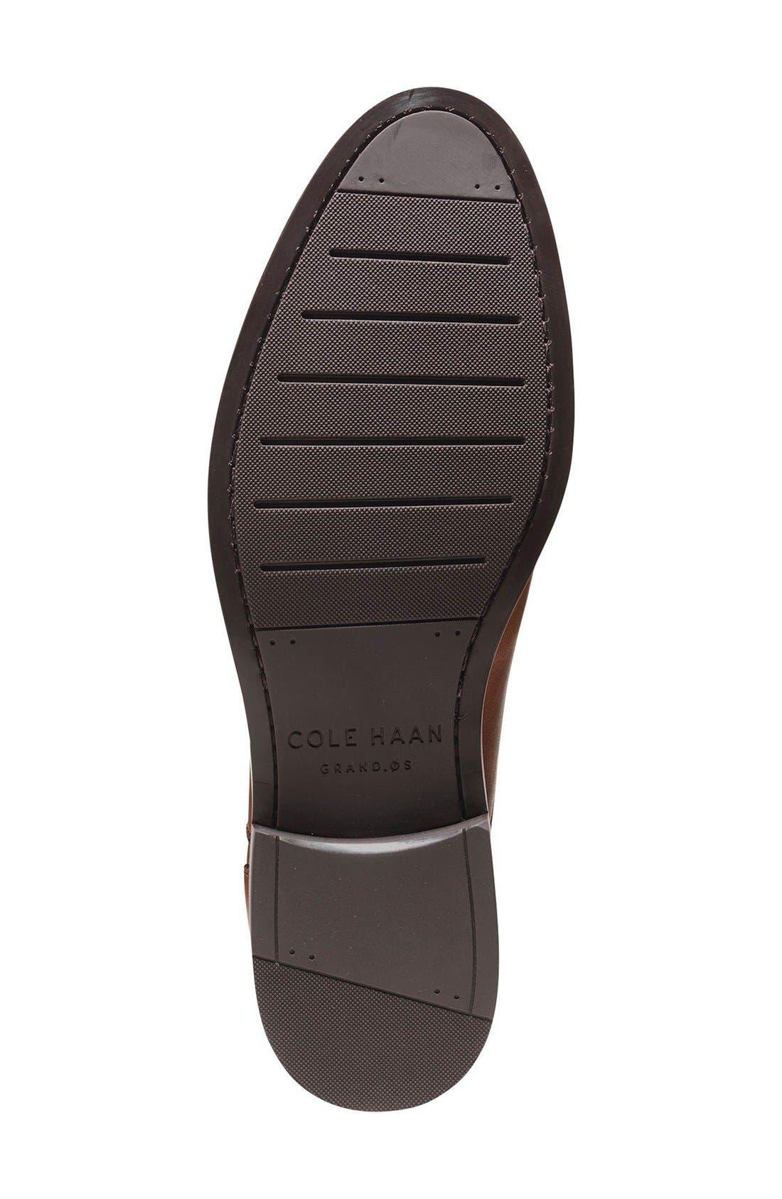 Harrison Grand Cap Toe Oxford,                             Alternate thumbnail 4, color,                             British Tan Leather