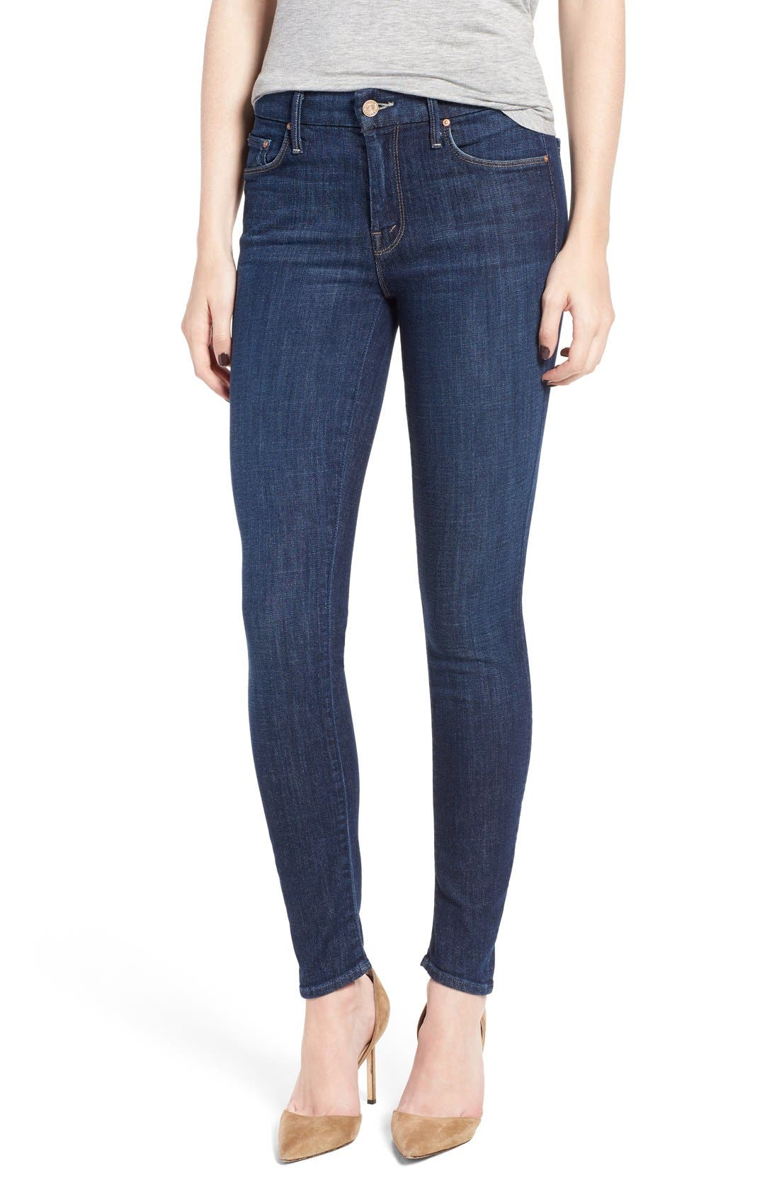 MOTHER 'The Looker' Skinny Jeans (Clean Sweep)
